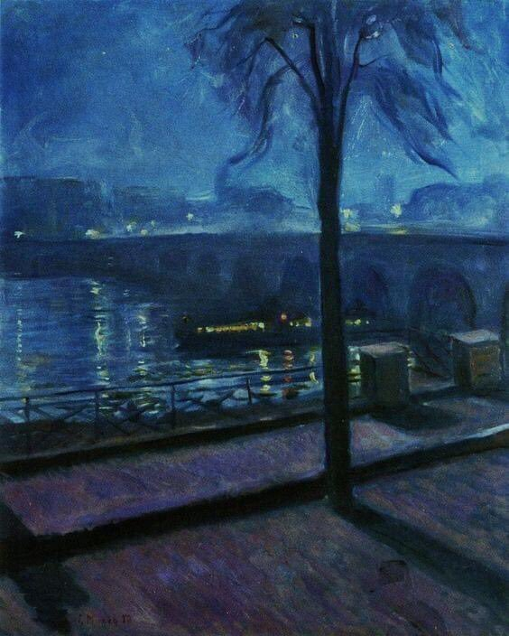 #noche en Saint-Cloud  #buscandoazules  #sfm #munchedvardpic.twitter.com/6j4iIOzgTG