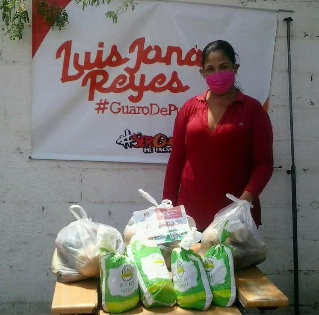 #26Mayo #PsuvIribarren #IribarrenMásHumano Jefe político y Alcalde @LuisJonasReyes A través de @MercabarOficial en la Bodega Móvil, esta semana ha logrado la distribución casa a casa de 6.635 kg de alimentos en combos solidarios a 850 familias en Comunidades del Municipio.