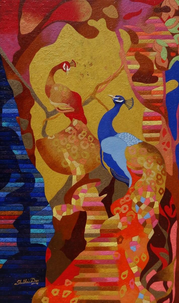 Royal Serenity  #art#artist#ShubraDas #paintingbyShubraDas #nature #naturepainting #paintingsofnature #Indianpainting #stayhome #quarantinediaries #artistsinquarantine #anatomyofart #artonline #exhibitions #artinyourspace #Eikowa #artEikowa #Eikowaart