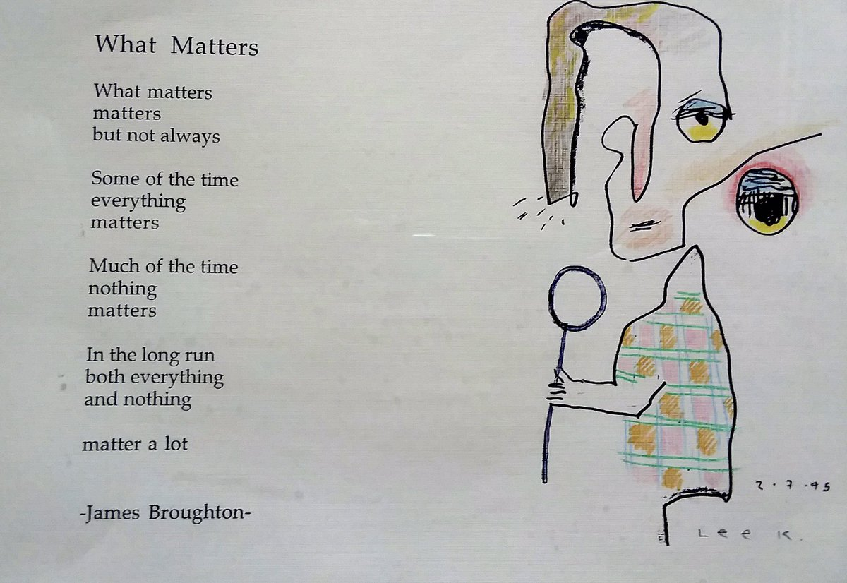 """""""Some of the time everything matters""""  #poetrycommunity   Big Joy — the poetry of James Broughton — #amreading #stayingpositive http://tealeavesamemoir.wordpress.com/2020/04/30/big…pic.twitter.com/I1m5JW4hGZ"""