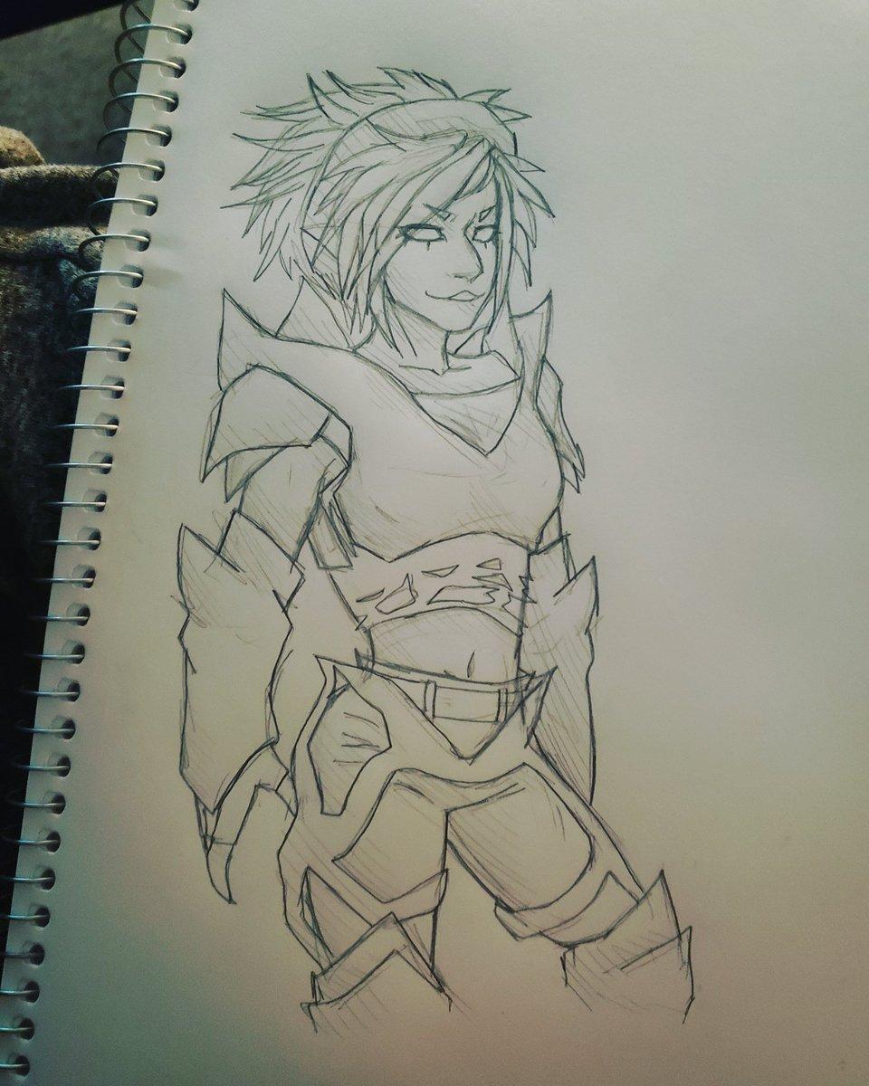 My dnd character #DnD #dungeonsanddragons #art #artist