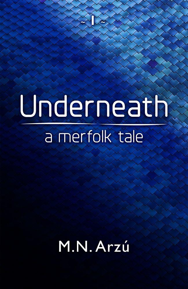 Books on mermen, you say? Try Underneath - A Merfolk Tale for a different take on the myths!    #mermay #mermay2020 #mermaid #merfolk #book
