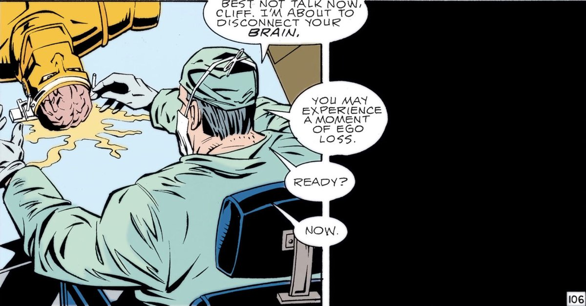 A Thread Written By Comicsbookcase Doom Patrol 30 Cliff