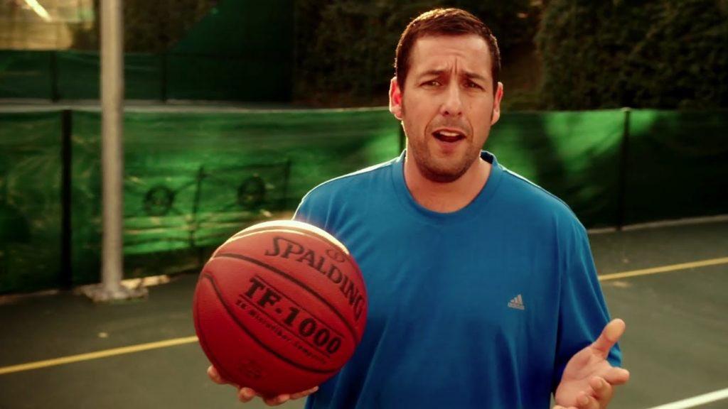"Adam Sandler, LeBron James team up for Netflix basketball movie ""Hustle."" bit.ly/3cOIN6T"