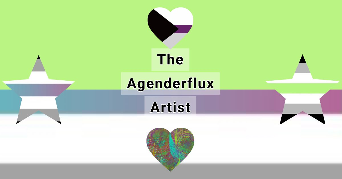 Today is #AgenderPrideDay. Nice that we get a day, since many still don't know what being agender means. To clarify, for me, being #agenderflux, means that although at times I feel more masculine or feminine, I have no gender, regardless of my anatomy. Yes, we exist! pic.twitter.com/kgQh7pCip6