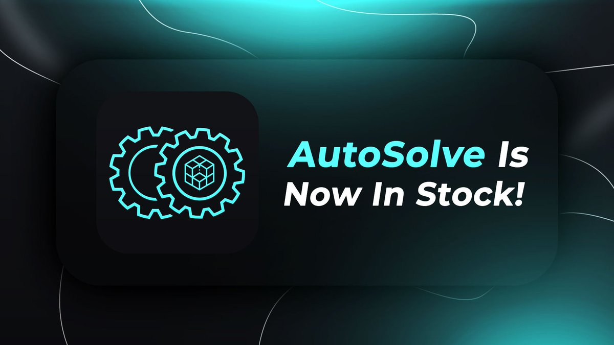 AYCD AutoSolve is in stock! We're running a 1-week promo priced @ $7 / monthly!  Purchase @ https://t.co/RXUhZZOeKs   Let's celebrate with FREE LIFETIME copies! 🎁  RT 🔂 this tweet and follow @aycdio for a chance to win:  1x Lifetime AYCD Pro 1x Lifetime AYCD Toolbox & AutoSolve https://t.co/o5xNjkfM5m