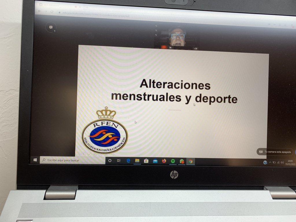 Seminaris de confinament. Aprofitant el moment 🌈🏊♀️🏊♀️, temes que no es tenen en compte i són molt importants #menstruació @RFEN_directo @RFEN_escuelaENT @esportigualada @patrilla12 #natació #donaiesport #esportdecompetició https://t.co/uYLzJBQuxY