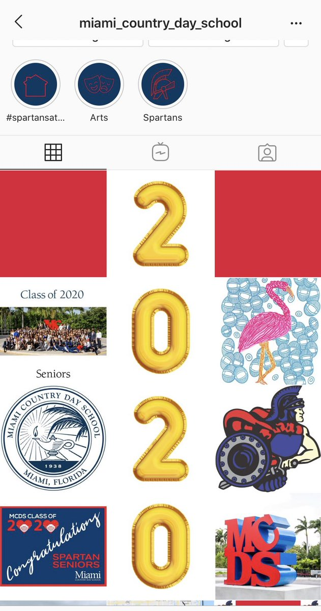 .@OfficialMCDS I see what you did there! I love it! Congrats #ClassOf2020 #SpartanPride