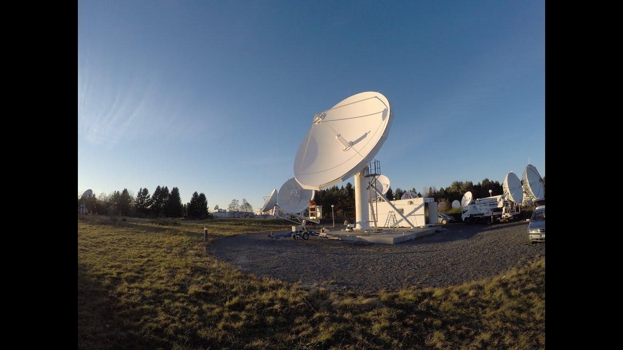 Antenas del proyecto Blockstream Satellite