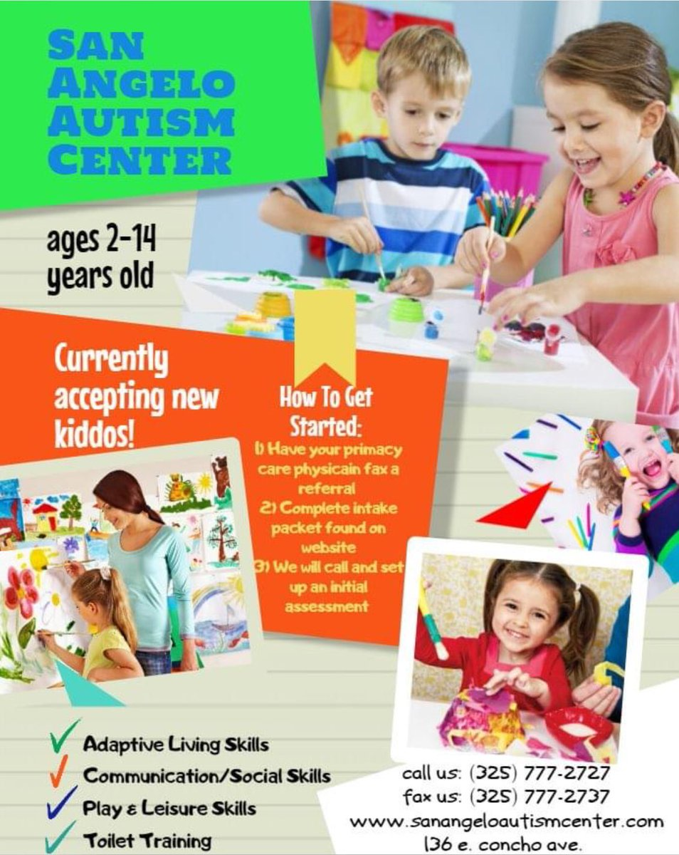Accepting new applications!! #autism #love #bestplaceintown #AutismAwarenesspic.twitter.com/7HikHglZky