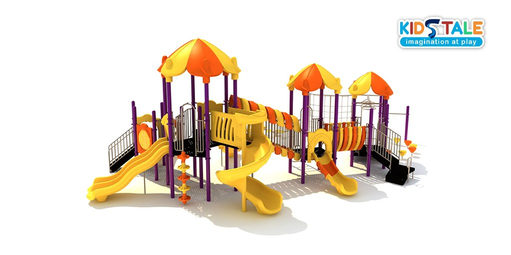 """Looking for not only durable and visually inviting, but also cost-effective #playgrounds with larger decks, tube slides, and clear crawl spaces to set the stage for #ImaginationAtPlay? Our 5"""" post series, Maximo should be your ultimate choice!   #play #outdooractivity #funpic.twitter.com/7nAEXsfE6B"""