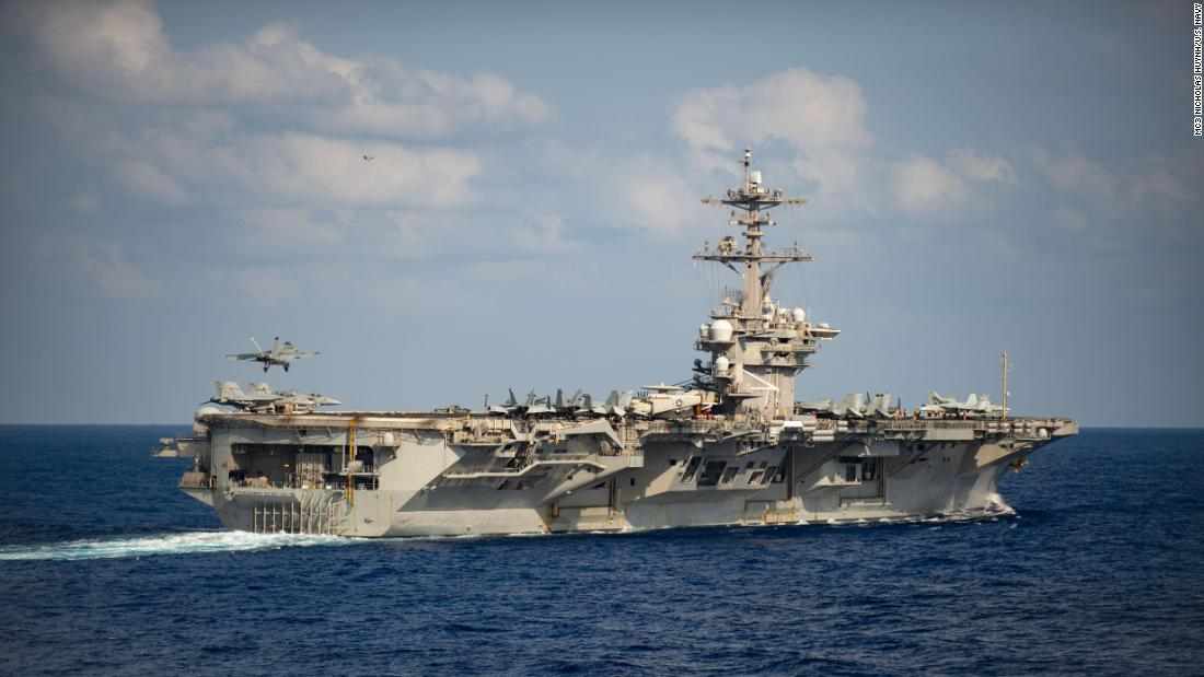 USS Theodore Roosevelt is expected to return to sea this week following a major coronavirus outbreak cnn.it/2Zh3sg1