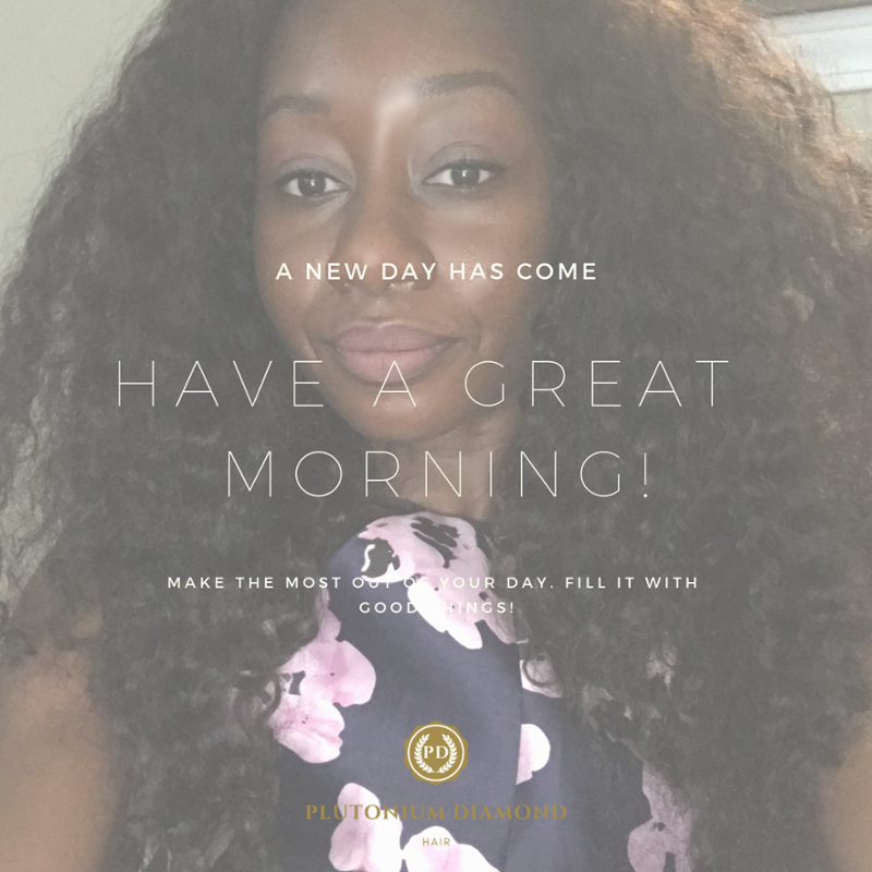 A new day has come. Have a wonderful morning! #PlutoniumDiamondHair #beautifulhairstyle#fabulous#luxury#glamour #beautifulday #goodmorning #begreat #diamonds#goodthings#curls #extensions #hair#locks#stylists#vacation#fun #hairofinstagram#beauty#beautifulhair #remyhairpic.twitter.com/w1GFjPvAzl