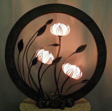 そう言えば照明を検索してて素敵なランプを見つけたんだった。趣が有っていい。