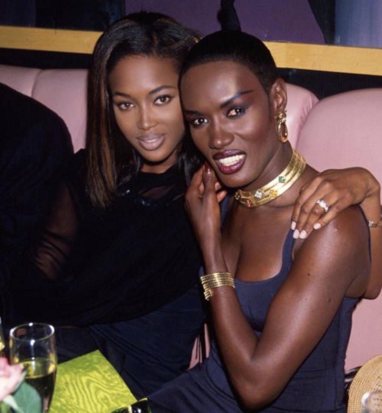 Big up to my Jamaican  queens Grace Jones and Naomi Campbell!  Happy Birthday Grace Jones!