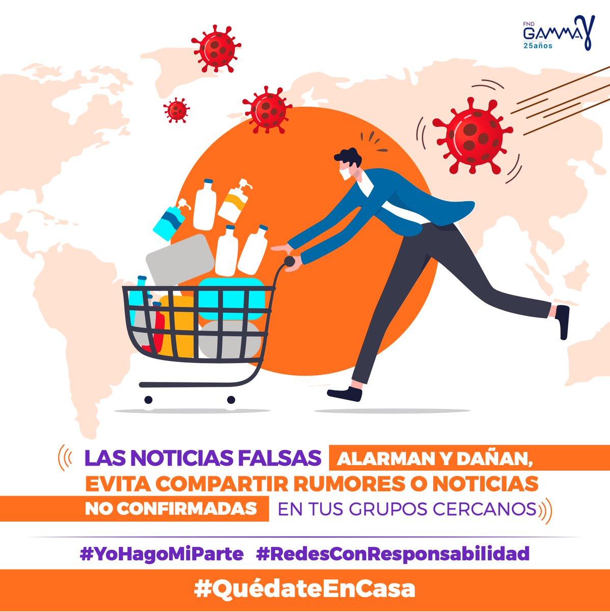 Un compromiso para verificar información No a la #desinfodemia .@ctardaguila  .@gammaecu https://t.co/viHXLKWM8e