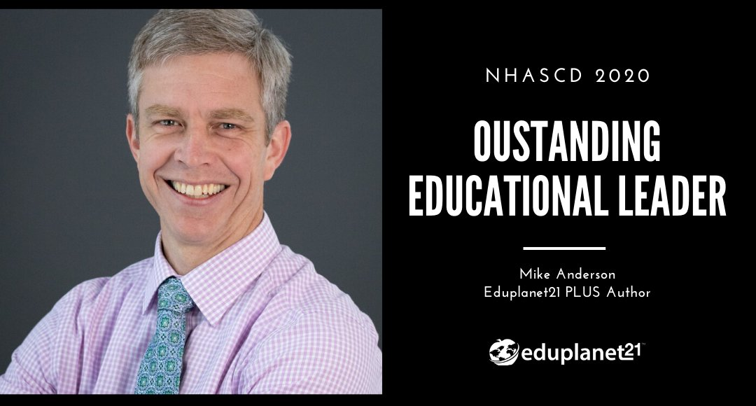 Congratulations to #EP21 Author @balancedteacher on earning the @nhascd 2020 Outstanding Educational Leader Award! Read more in our latest blog post! 👉 https://t.co/bBxc6CuRv1 https://t.co/6ENq0WckzI