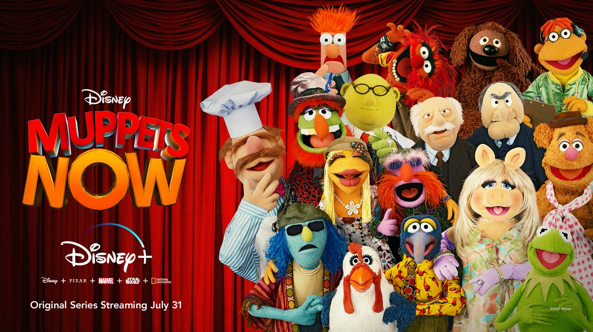 Lights! Music! Muppets! ...Unscripted! Get ready to see your favorite characters like never before in #MuppetsNow, an Original Series, coming July 31 only on #DisneyPlus. #DisneyBundle