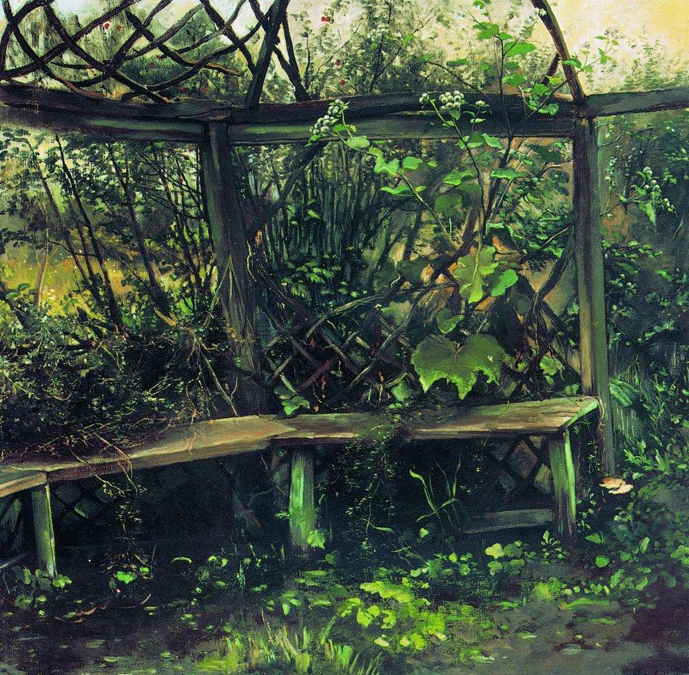Summerhouse, 1889 #realism #russianart<br>http://pic.twitter.com/RXTigPLjGi