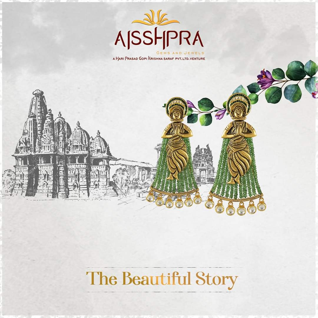 Get ready to welcome the compliments for your exclusive style  #Aisshpra #jewellerystore #designerearrings #masterpiece #jewellerylove #designerjewellery #earringspic.twitter.com/2VWsMli7aK