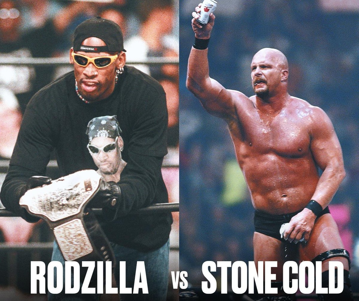 The WWF matchup we never got to see:  Rodzilla vs Stone Cold 🔥 https://t.co/totxLkLSHP