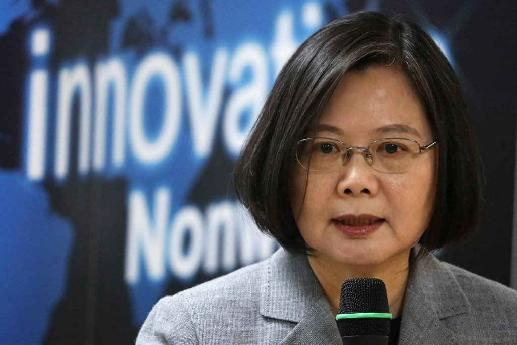Taiwan president says wants talks with China, but not one country, two systems reuters.com/article/us-tai…