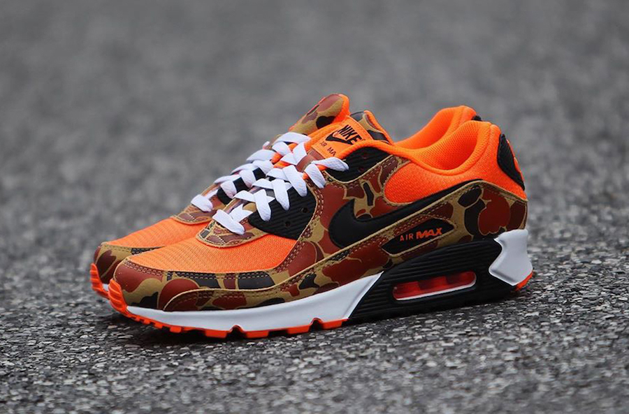 Nike Air Max 90 'Orange Camo