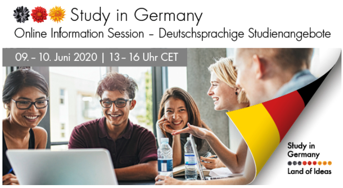 Join Us!😄 Live 'Study in Germany' Webinar! 🌍 Find out more about study opportunities in Germany in this free online info session! 🇩🇪  Click here to sign up & access the brochure⬇️ https://t.co/5Fq9ZnpeXS  #studyingermany #researchingermany #daad @GI_Australien @GermanyInOz https://t.co/qUNfNAdsNo