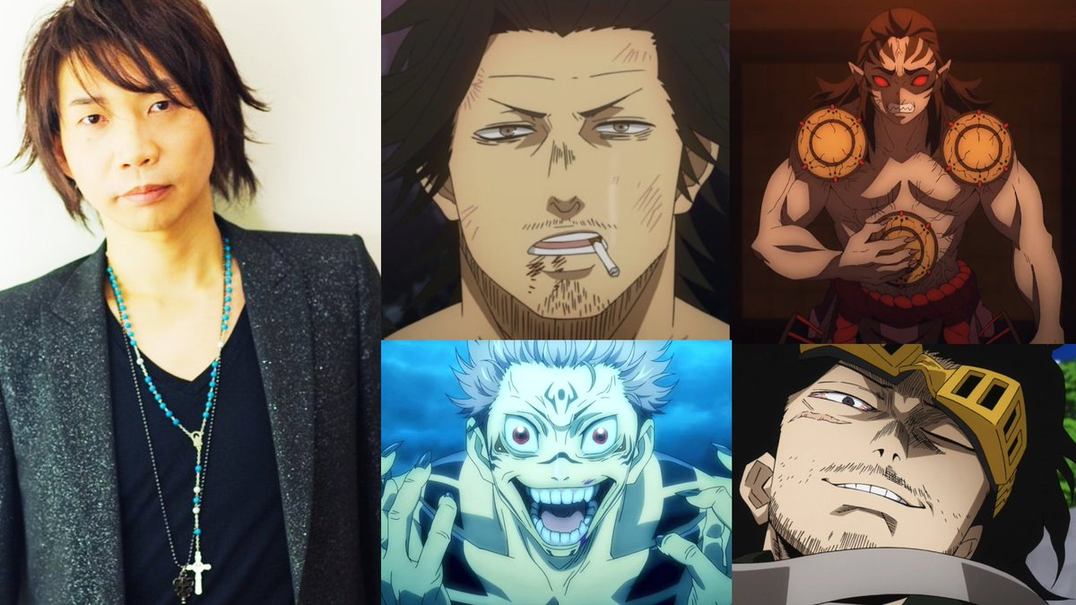 Forneverworld Auf Twitter The Actor Casted For Sukuna In The Upcoming Jujutsu Kaisen Anime Is A Fukn Goat Also Voices Yami From Black Clover Aizawa From My Hero Academia Not To