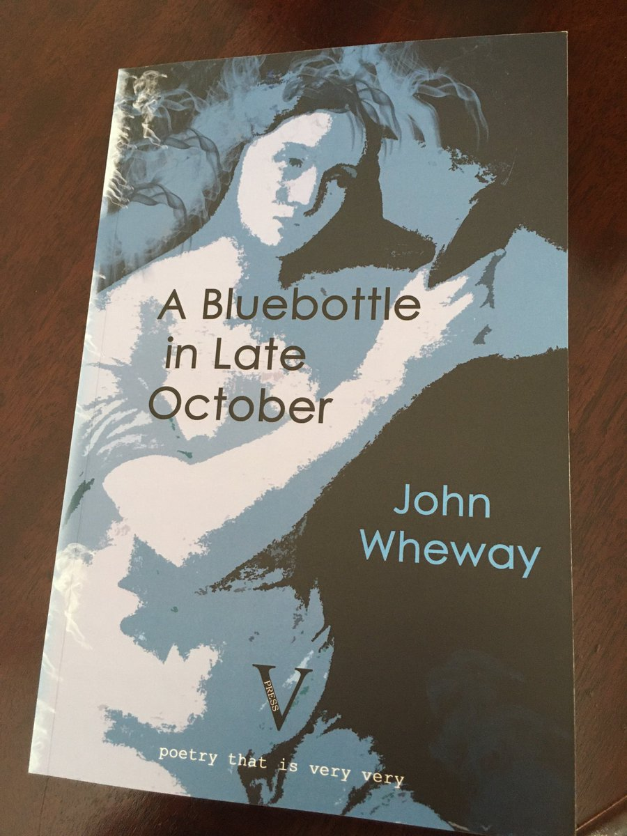 Ooh, look what's arrived. It really is a beautiful book. Looking forward to reading it @WhewayJohn @vpresspoetry