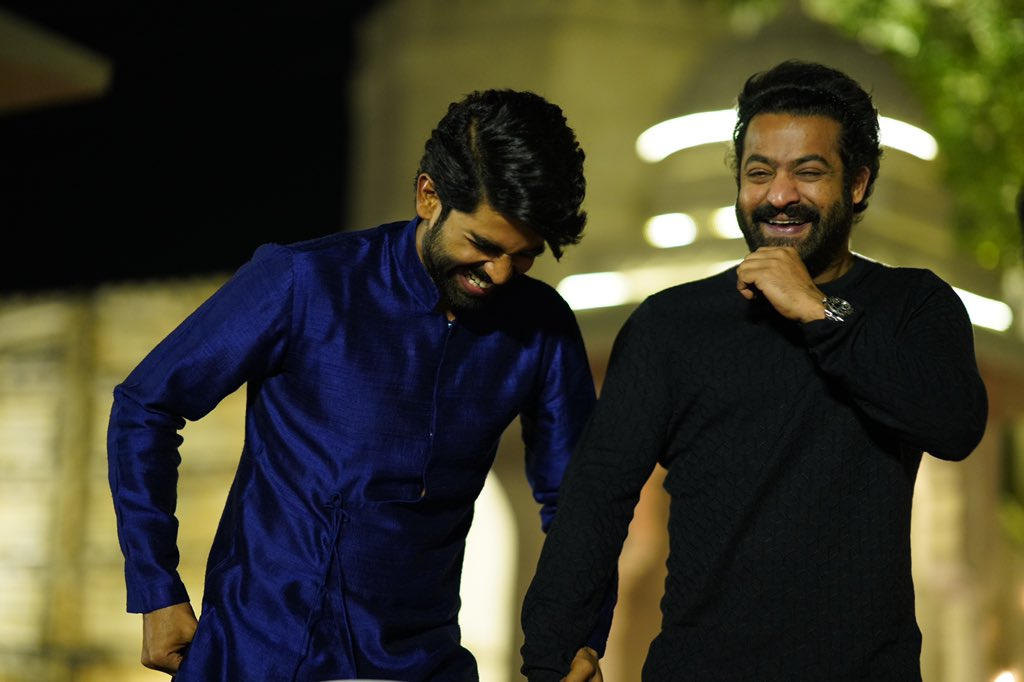 Known him since I was 9; shared his joys and his sorrows for past 19 years now. A brother since. Now feel so honoured to be working with him and see to him perform is ecstatic. Love you so much anna! ❤️🤗 Can't waaaaait to start shooot! #HappyBirthdayTarak #HappyBirthdayNTR https://t.co/UdGmEy54oz