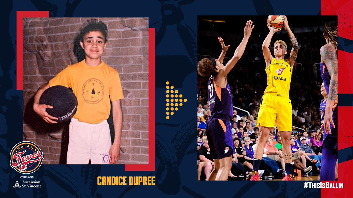 Candice Dupree'nin çocukluğu 🤗🏀 #WNBA #IndianaFever https://t.co/xKP1t0goQM