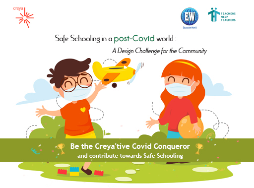 A unique opportunity for #Teachers #Students #Parents to share your ideas on safe schooling. Participate in  #SafeSchooling in a #PostCovid world-A #design #challenge for the #communities by clicking https://creyalearning.paperform.co/. WIN GOOGLE MINIS! #teachershelpteachers #educationworldpic.twitter.com/P3YgYaKZHF