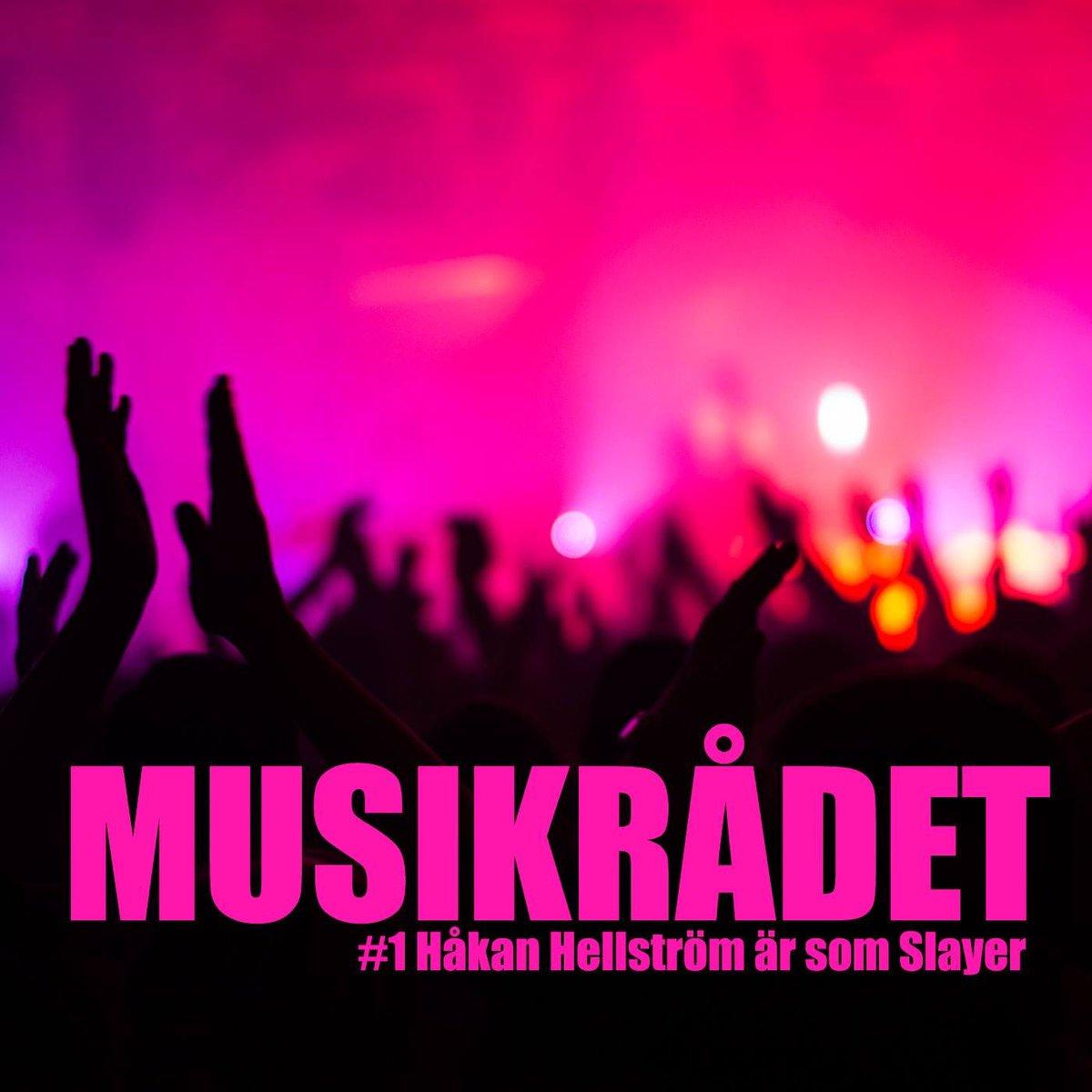 #1 Håkan Hellström är som Slayer Jungfrufärden! Musikrådet rådslår för första gången och bjuder på ett passionerat samtal om musik. Hörs på Spotify, i Podcaster-appen eller på Drefvet drefvet.se/1-hakan-hellst…