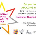 Image for the Tweet beginning: We are supporting National Thank