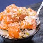 めちゃくちゃ簡単だけど美味い!?「ネギ塩サーモン丼」の作り方!