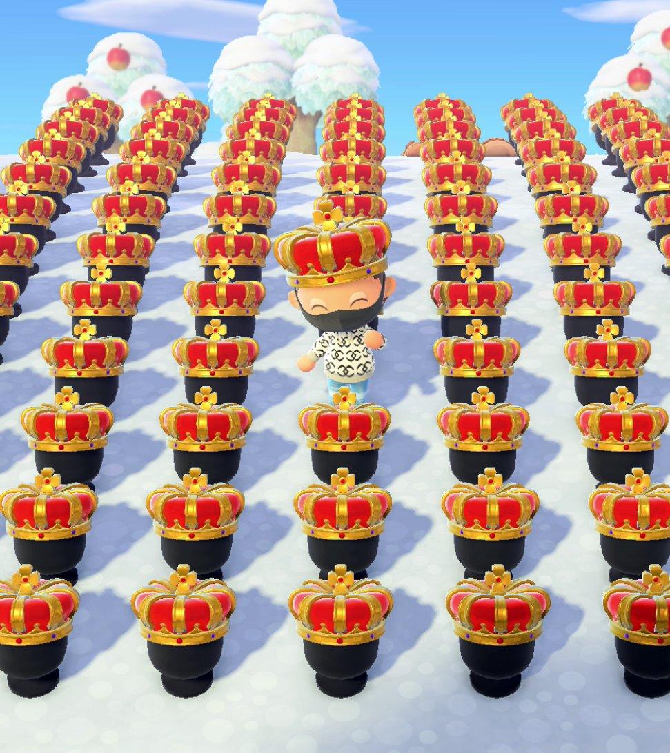 💙𝗕𝗜𝗚𝗚𝗘𝗦𝗧 𝗔𝗖𝗡𝗛 𝗚𝗜𝗩𝗘𝗔𝗪𝗔𝗬💚  Winner gets: 🐻JUDY & RAYMOND😺 🎫1K NMT 👑80 ROYAL CROWNS 🤖7 ROBOTS 🍯1.2K GOLD NUGS 🌙7 MOON CHAIRS 👸ALL CROWNS 🍄5 MUSH LAMP 🐟1K FISH BAIT  Rules: -Follow me -RT +❤️  -Tag friend  #ACNH #AnimalCrossingNewHorizons #AnimalCrossing