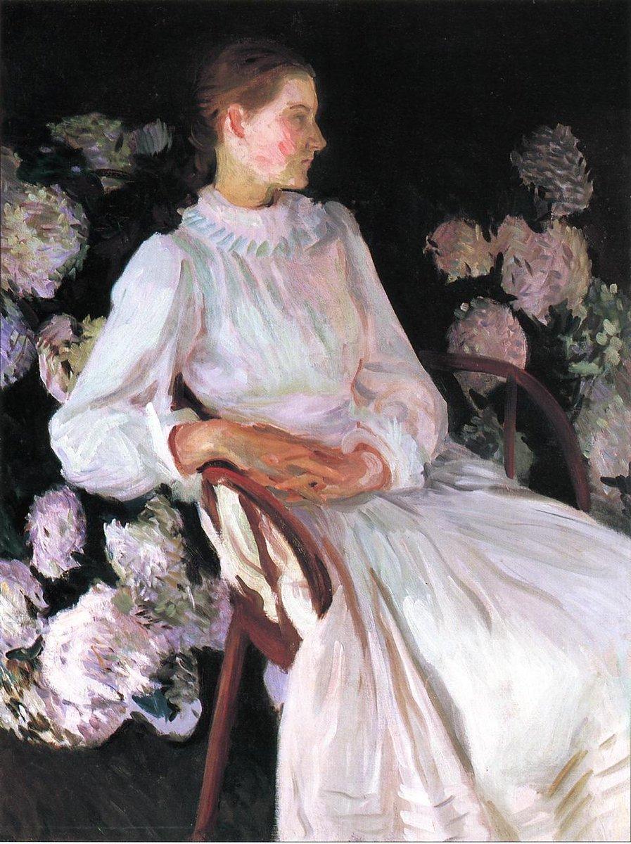 Portrait of Katharine Chase Shapleigh, 1890 #sargent #realism