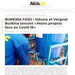 Image for the Tweet beginning: #FR_ #BURKINA #FASO - @Uduma_Gestion