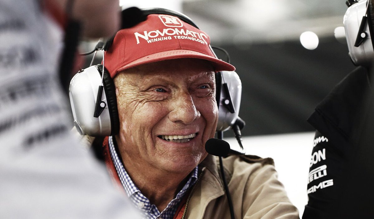 One year ago today we lost one of the greatest legends of our sport. Niki combined heroism, humanity and honesty inside and outside the cockpit. He was our Chairman. He was our friend. There will never be another like you. Niki, we miss you ❤️ https://t.co/XyYDuAyg4w