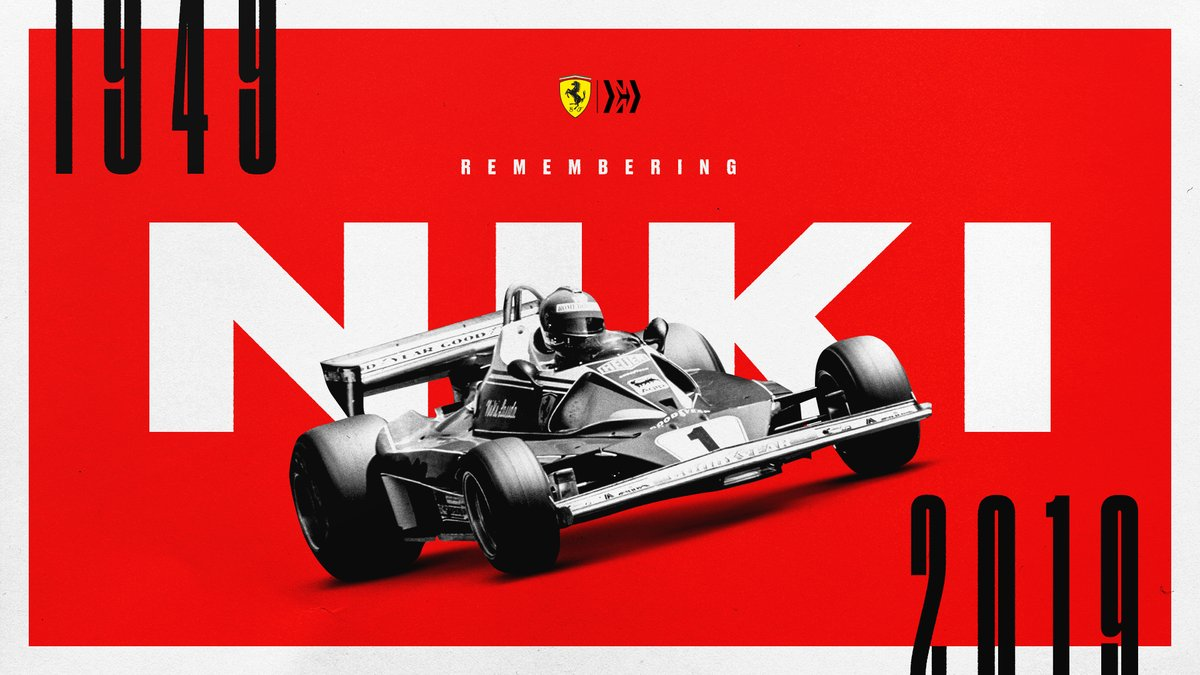 Forever in our hearts, Niki ❤️  #essereFerrari 🔴 https://t.co/JyO0mR78BS