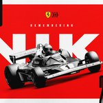 Forever in our hearts, Niki ❤️  #essereFerrari 🔴