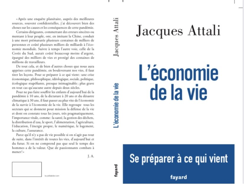 """Jacques Attali on Twitter: """"Mon prochain livre, parution le 15 ..."""