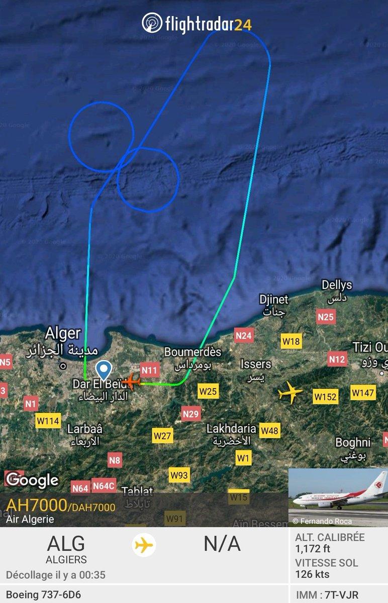 Air algerie flies its planes during COVID19  crisis ,@medias_air<br>http://pic.twitter.com/efJIITtn4S