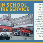 Image for the Tweet beginning: The Main School of Fire