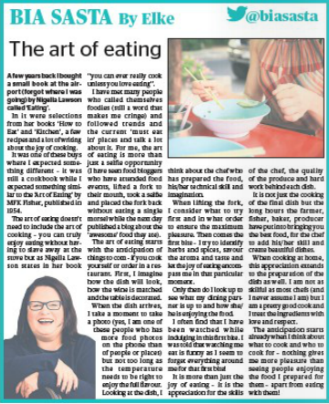 The art of eating! Read a great article by @biasasta! Read full story here⬇️ corkindependent.com/food/biasasta/…