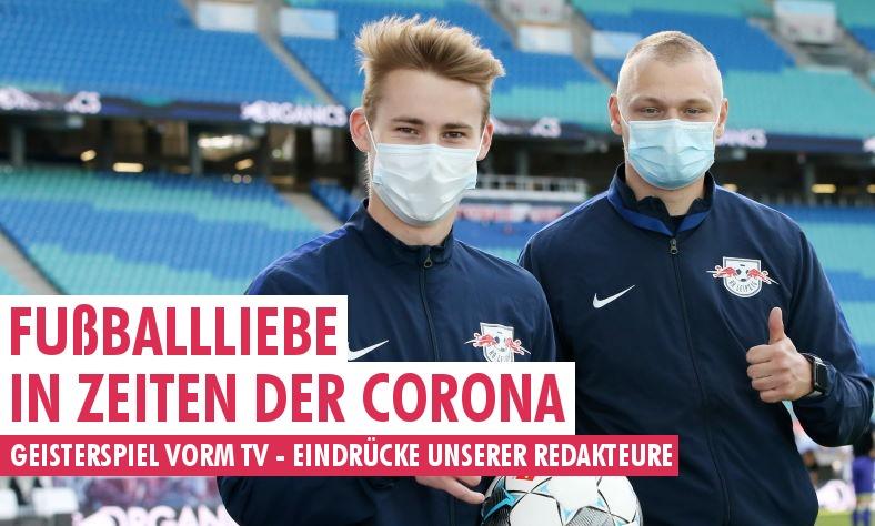 Fußball-Liebe in den Zeiten der #Corona. Die Eindrücke unserer Redakteure vom Geisterspielauftakt #RBLSCF: https://t.co/F7TTTdnIv9 https://t.co/XXCQ6JLboa