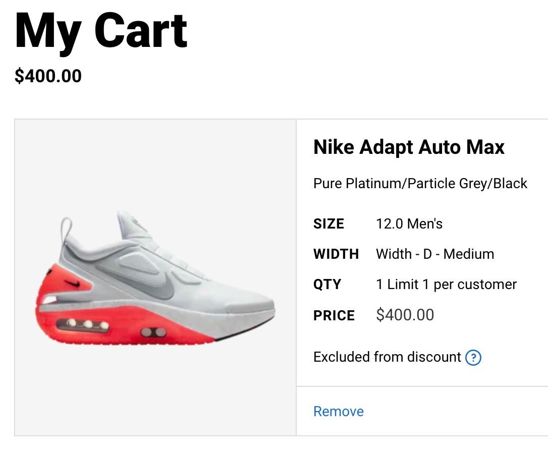 22+ Nike Adapt Auto Max Price In India Background