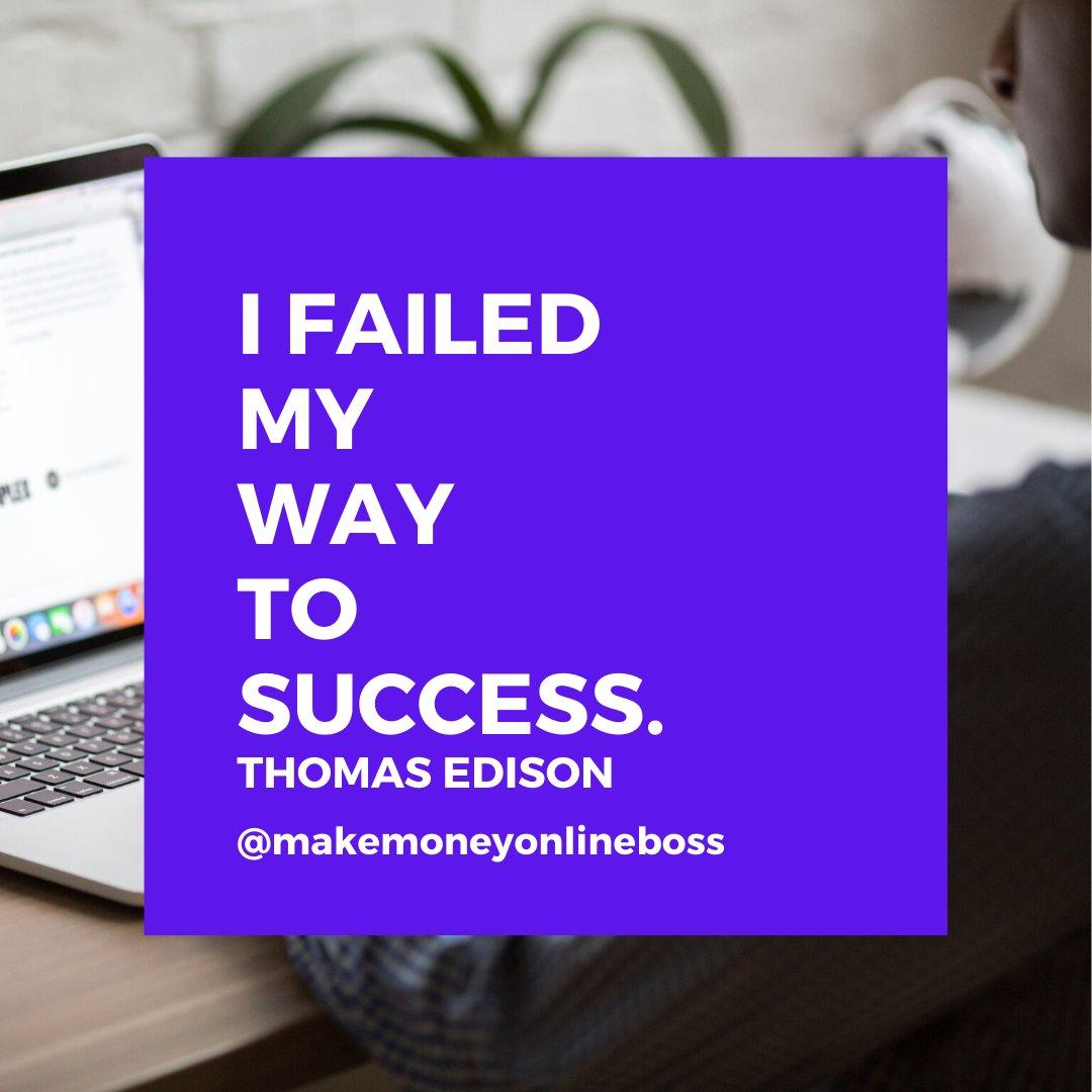 Success is 99 percent failure. Soichiro Honda    #mindset  #ambition  #hustle  #success  #empreendedorismo  #entrepreneurshippic.twitter.com/Nt9zZAOcmL