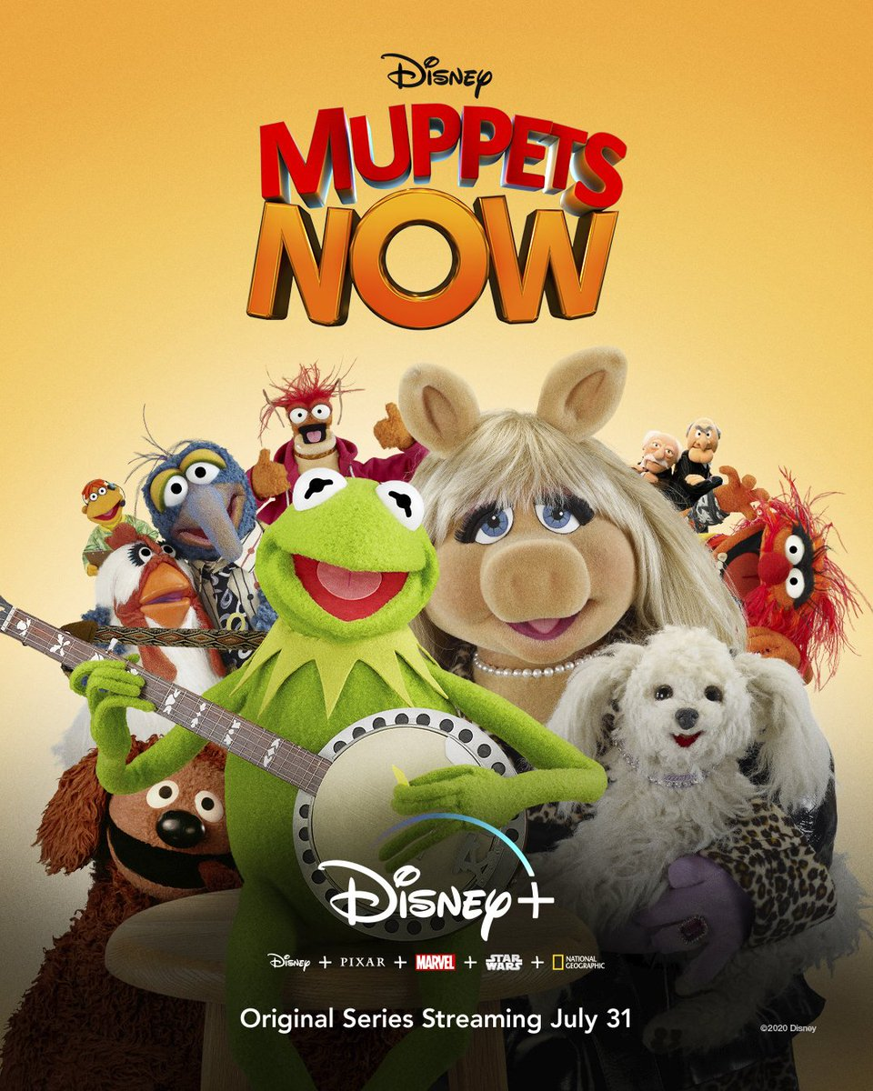 Lights! Music! Muppets! ...Unscripted! Get ready to see your favourite characters like never before in #MuppetsNow, an Original Series, coming July 31 only on #DisneyPlus 🍿